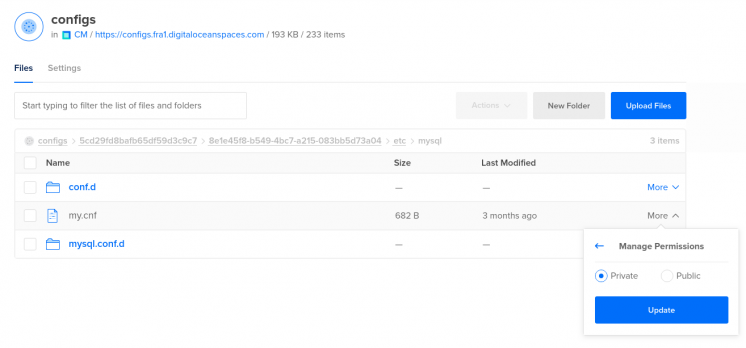 How to change file permissions for a file DigitalOcean